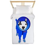 Space Dog Meiklo Twin Duvet Cover