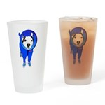 Space Dog Meiklo Drinking Glass