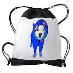 Space Dog Meiklo Drawstring Bag