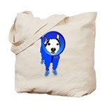Space Dog Meiklo Tote Bag