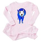 Space Dog Meiklo Toddler Pink Pajamas