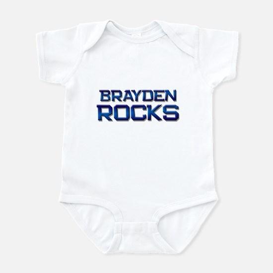 brayden rocks Infant Bodysuit