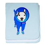 Space Dog Meiklo baby blanket