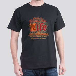 Christian Life Begins Dark T-Shirt