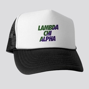 Lambda Chi Alpha Athletic Trucker Hat