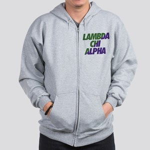 Lambda Chi Alpha Athletic Zip Hoodie