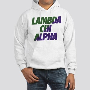Lambda Chi Alpha Athletic Hooded Sweatshirt