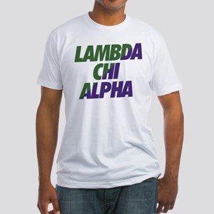 Lambda Chi Alpha Athletic Fitted T-Shirt