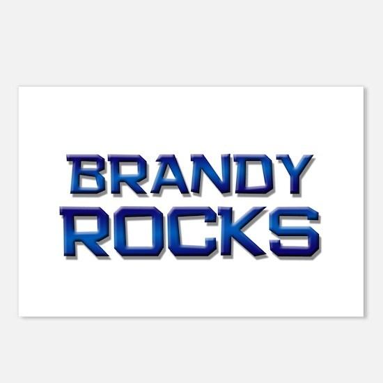 brandy rocks Postcards (Package of 8)