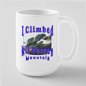 I Climbed Kit Carson Mountain Large Mug