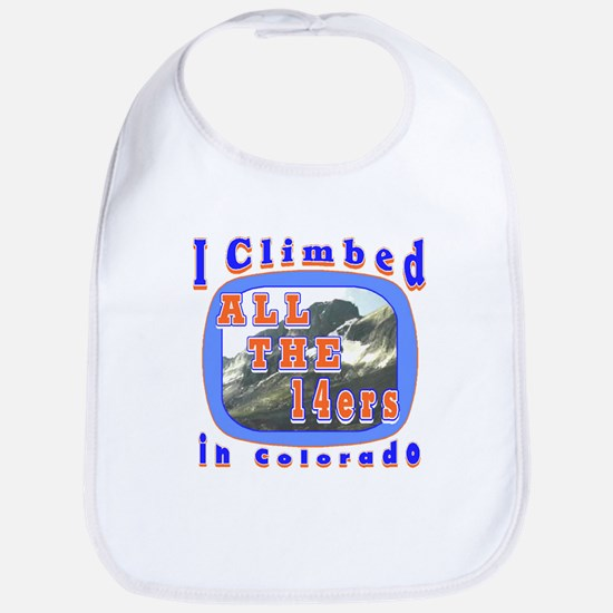 I climbed all the 14ers in Co Bib