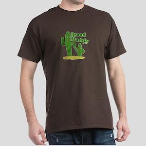 Proud Daddy Cactus Dark T-Shirt