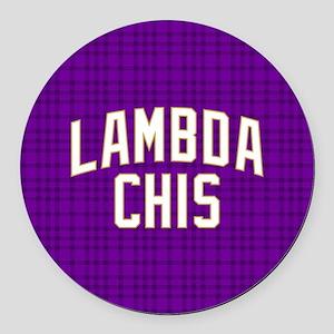Lambda Chi Alpha Lambda Chis Round Car Magnet
