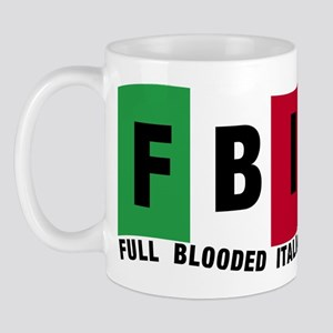 FBI Full blooded Italian Mug