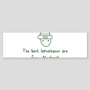 Montreal leprechauns Bumper Sticker