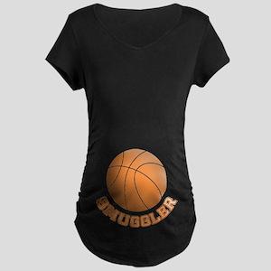 Basketball Smuggler Maternity Dark T-Shirt