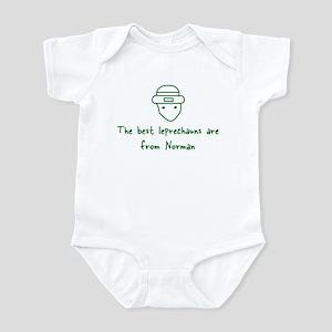 Norman leprechauns Infant Bodysuit