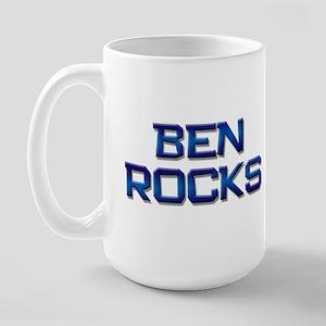ben rocks Large Mug