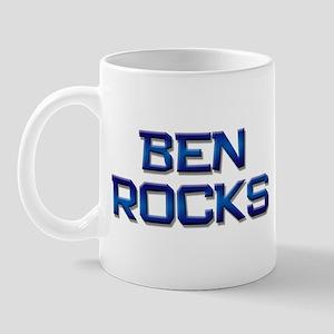 ben rocks Mug