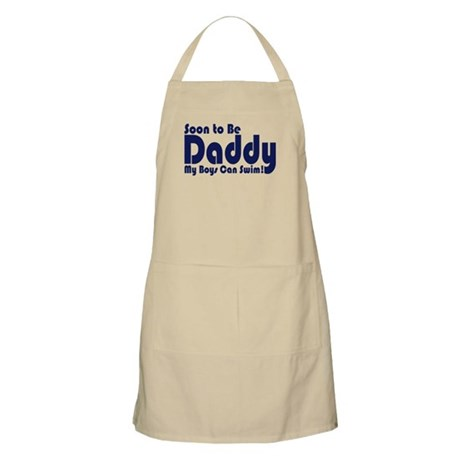 Soon to be Daddy BBQ Apron