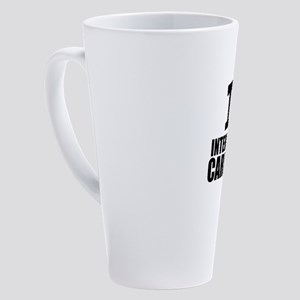 I Love Interventional Cardiology 17 oz Latte Mug