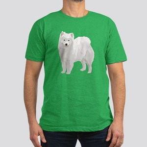 Beautiful Samoyed Men's Fitted T-Shirt (dark)