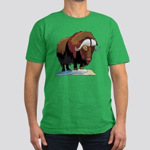 Muskox Men's Fitted T-Shirt (dark)