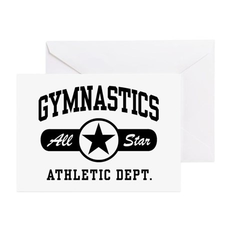 Gymnastics Greeting Cards (Pk of 10)