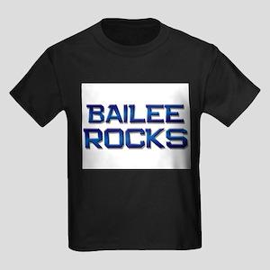 bailee rocks Kids Dark T-Shirt