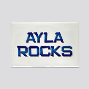 ayla rocks Rectangle Magnet