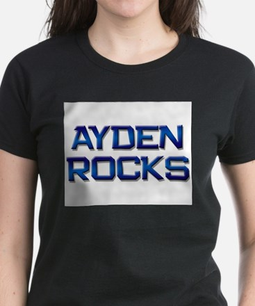 ayden rocks Women's Dark T-Shirt