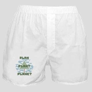 Plan-Plant-Planet Boxer Shorts