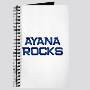 ayana rocks Journal
