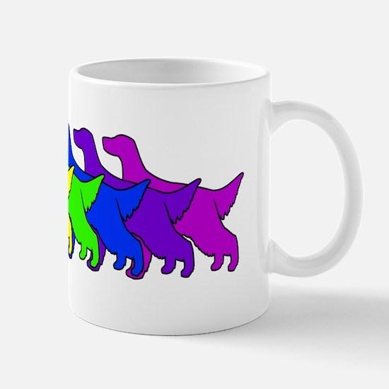 Rainbow Irish Setter Mug
