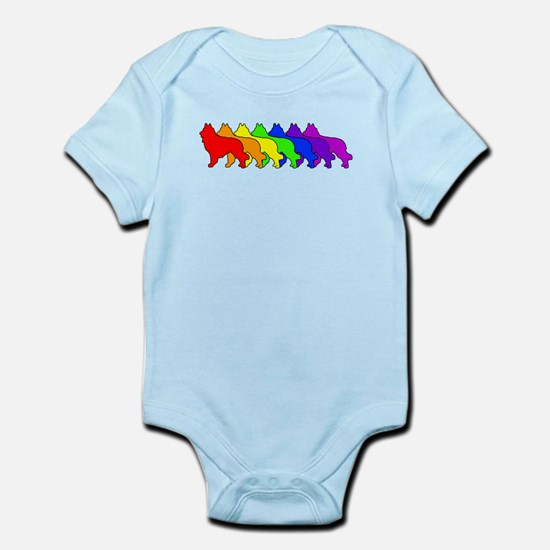 Rainbow Tervuren Infant Bodysuit