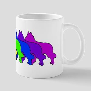 Rainbow Tervuren Mug