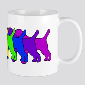 Rainbow Border Terrier Mug