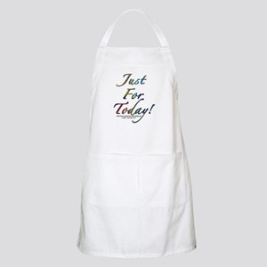 """Just for today"" BBQ Apron"