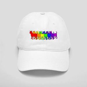 Rainbow Chihuahua Cap