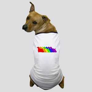 Rainbow Cocker Spaniel Dog T-Shirt