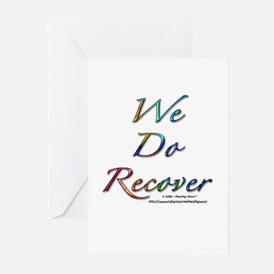 """""""We Do Recover"""" Greeting Cards (Pk of 10)"""