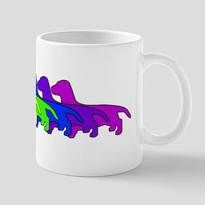 Rainbow Dachshund Mug