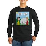 Popcorn Igloo Long Sleeve Dark T-Shirt