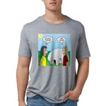 Popcorn Igloo Mens Tri-blend T-Shirt
