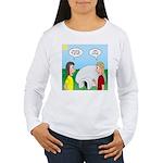 Popcorn Igloo Women's Long Sleeve T-Shirt