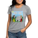 Popcorn Igloo Womens Tri-blend T-Shirt