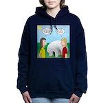 Popcorn Igloo Women's Hooded Sweatshirt