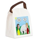 Popcorn Igloo Canvas Lunch Bag