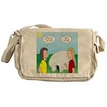 Popcorn Igloo Messenger Bag