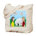 Popcorn Igloo Tote Bag